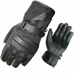 BLACK Airflow 5192 skinn mc handskar