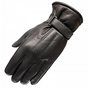 BLACK Vapour Leather Motorcycle 51050106 MC HANDSKAR