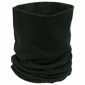 Black Cotton Neck Tube 5007