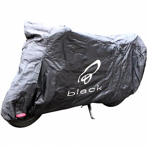 Black Sonar Motorcycle Cover Medium 5133 mc skydd