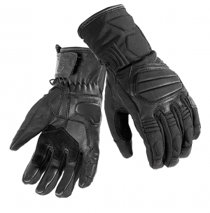 BLACK Duo Leather Motorcycle 51910106 MC HANDSKAR