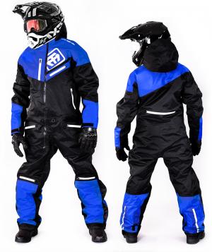 ATA ZERO BLUE OVERALL ATV/SNOWMOBILE CE ALLVÄDERSSTÄLL  970