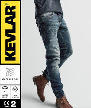 KEVLAR BASIC WP DIRTYBLUE MC JEANS