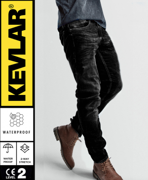 KEVLAR BASIC WP DARKSHADE GREY MC JEANS