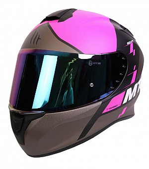 MT TARGO RIGEL A8 MATT PINK BLACK BROWN MC HJÄLM