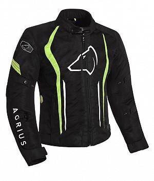 Agrius Phoenix Motorcycle BLACK/HI-VIS 51026-0804 ALLVÄDER MC JACKA